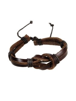 Браслет Leather Twisted BL5211
